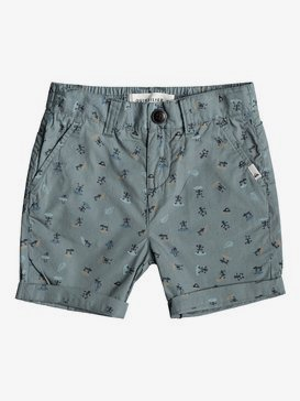 Aop - Slim Fit Shorts for Boys 2-7  EQKWS03165
