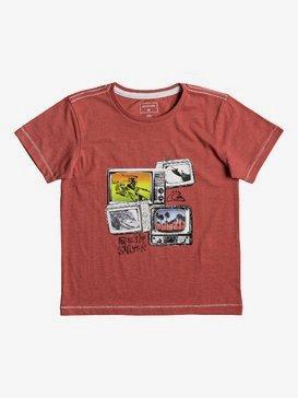 Heather Super TV - T-Shirt for Boys 2-7  EQKZT03205