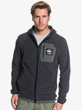 Waterman Bigger Boat - Hooded Zip-Up Fleece for Men  EQMFT03041
