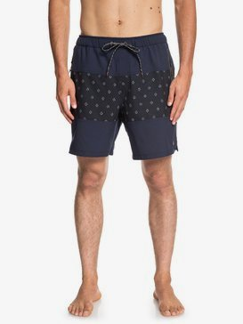 "Waterman Manoa Rain Triblock 18"" - Swim Shorts for Men  EQMJV03048"