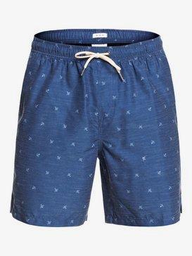 "Waterman Airbourne Fishes 18"" - Swim Shorts for Men  EQMJV03058"