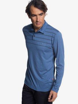 Waterman River Explorer - Long Sleeve UPF 30 Polo Shirt for Men  EQMKT03042