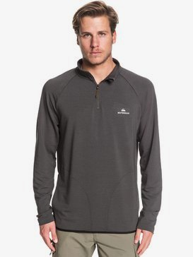 Waterman Sea Hound - Long Sleeve Half Zip Mock Neck Top for Men  EQMKT03067