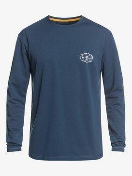 Waterman Gut Check - Long Sleeve UPF 50 Surf T-Shirt for Men  EQMWR03057