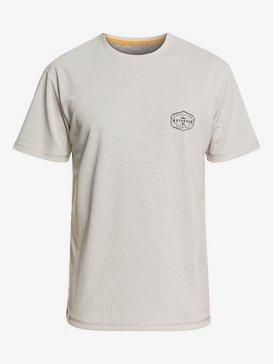 Waterman Gut Check - Short Sleeve UPF 50 Surf T-Shirt for Men  EQMWR03058