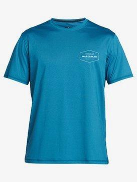 Waterman Gut Check - Short Sleeve UPF 50 Surf T-Shirt for Men EQMWR03069