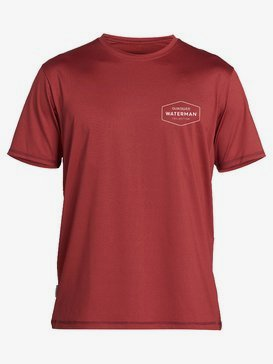 Waterman Gut Check - Short Sleeve UPF 50 Surf T-Shirt for Men  EQMWR03069