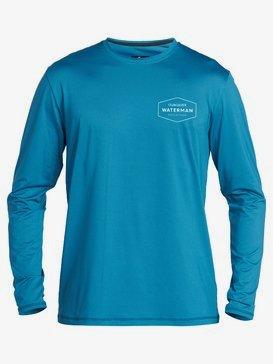 Waterman Gut Check - Long Sleeve UPF 50 Surf T-Shirt for Men  EQMWR03072