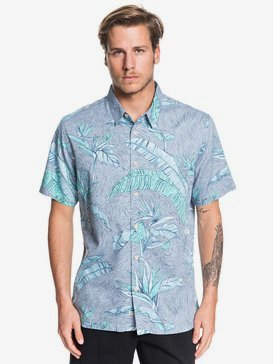 Waterman Under Warm Rain - Short Sleeve Shirt for Men  EQMWT03262
