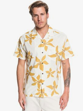 Waterman Falling Blossom - Lightweight UPF 30 Short Sleeve Shirt for Men  EQMWT03284