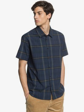 Waterman Ocean Check - Technical Short Sleeve Shirt  EQMWT03299