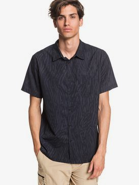 Waterman Water Ripples - UPF 30 Short Sleeve Shirt for Men  EQMWT03309