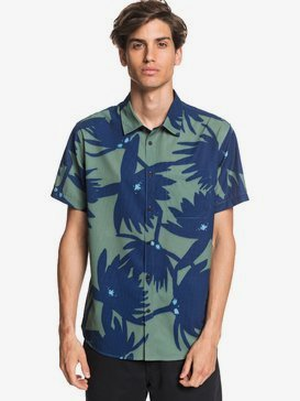 Waterman Underwater Forrest - UPF 30 Short Sleeve Shirt  EQMWT03313