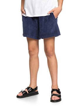 Originals Heritage - Corduroy Sweat Shorts for Women  EQWFB03007