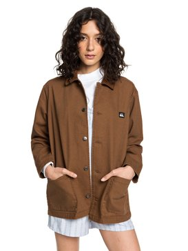 Quiksilver Womens - Mid-Length Corduroy Jacket  EQWJK03007