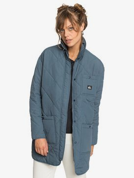Quiksilver Womens - Longline Puffer Jacket for Women  EQWJK03012