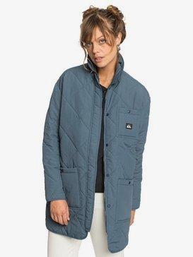 Quiksilver Womens - Longline Puffer Jacket for Women  EQWJK03012