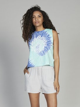 Quiksilver Womens - Cropped Sleeveless T-Shirt  EQWKT03024