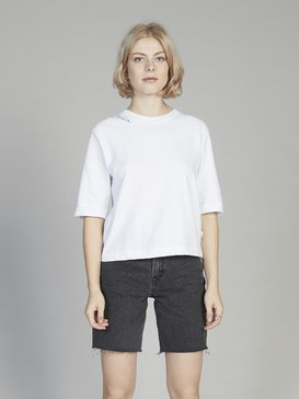 Quiksilver Womens - Cropped 3/4 Sleeve T-Shirt  EQWKT03026