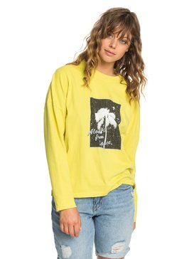 Quiksilver Womens - Boxy Long Sleeve T-Shirt  EQWKT03033