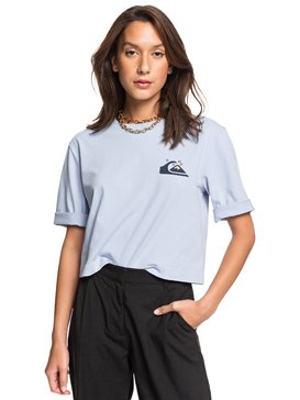 Quiksilver Womens - Cropped Loose Mid-Sleeve T-Shirt  EQWKT03034