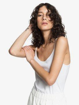 Quiksilver Womens - Rib Knit Strappy Top for Women  EQWKT03037