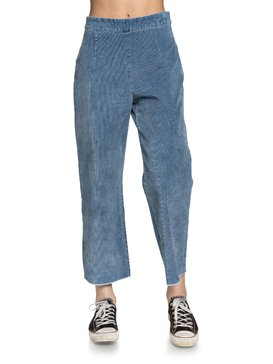 Quiksilver Womens - High Waist Flared Corduroy Trousers  EQWNP03012