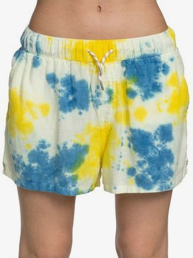 Quiksilver Womens - Elasticated Linen Shorts  EQWNS03016