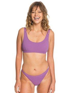 Quiksilver Womens - Rib Knit Bikini Top for Women  EQWX303002