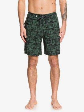 """Highline Dead Floral 18"""" - Board Shorts for Men  EQYBS04206"""