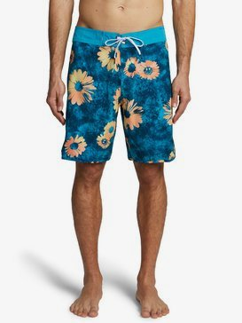 "Highline Sprayed Daisy 19"" - Board Shorts for Men  EQYBS04371"