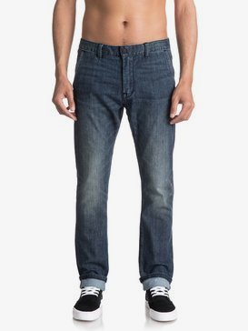 Athletic Coolmax - Tapered Fit Jeans for Men  EQYDP03335