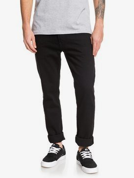 Distorsion Black Black - Slim Fit Jeans for Men  EQYDP03407