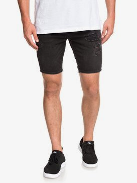 "Distorsion Stranger Black 18"" - Denim Shorts for Men  EQYDS03084"