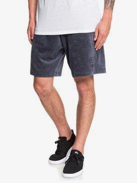"Corduroy 19"" - Elasticated Corduroy Shorts for Men  EQYFB03187"