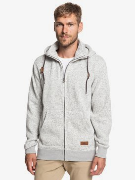 Keller - Zip-Up Polar Fleece Hoodie for Men  EQYFT03835