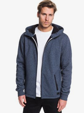 Kurow Sherpa - Zip-Up Sherpa-Lined Hoodie for Men  EQYFT04007