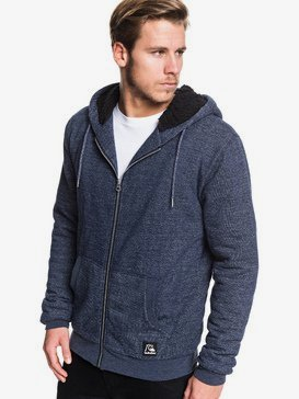 Rio Sherpa - Zip-Up Sherpa-Lined Hoodie for Men  EQYFT04020