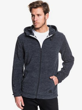 Frosted Fire - Hooded Zip-Up Fleece for Men  EQYFT04033