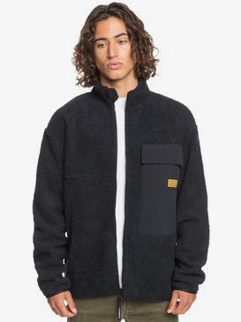 Shallow Water - Zip-Up Sherpa Fleece for Men  EQYFT04237