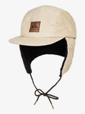 Winter - Corduroy Camper Cap with Earflaps for Men  EQYHA03201