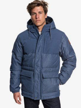 Full Fin - Waterproof Hooded Puffer Jacket for Men  EQYJK03392