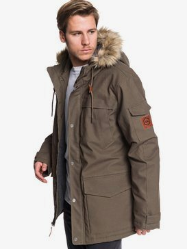 Storm Drop 5K - Waterproof Hooded Canvas Parka for Men  EQYJK03510