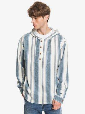 Neo Blue - Flannel Hoodie  EQYJK03542