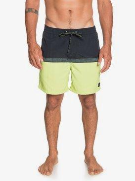 "Disrupted 17"" - Swim Shorts for Men  EQYJV03632"