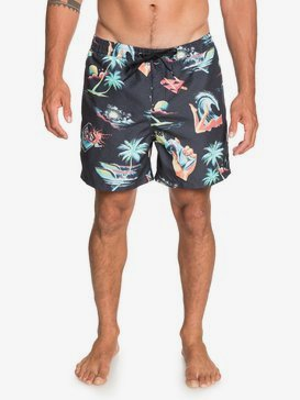 "Sun Damage 16"" - Swim Shorts for Men  EQYJV03659"