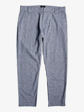 The Originals - Tapered Cropped Check Trousers for Men  EQYNP03174