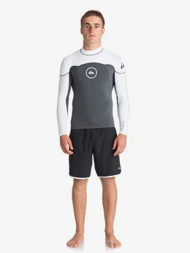 1mm Syncro Series - Long Sleeve Neoprene Surf Top for Men  EQYW803008