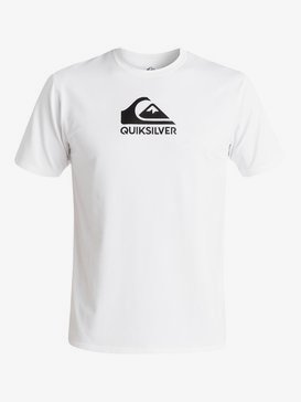 Solid Streak Ls - Short Sleeve UPF 50 Surf T-Shirt for Men  EQYWR03159
