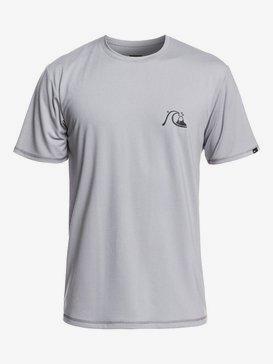 Bubble Logo - Short Sleeve UPF 50 Rash Vest for Men  EQYWR03201